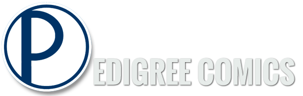 Logo: Pedigree Comics
