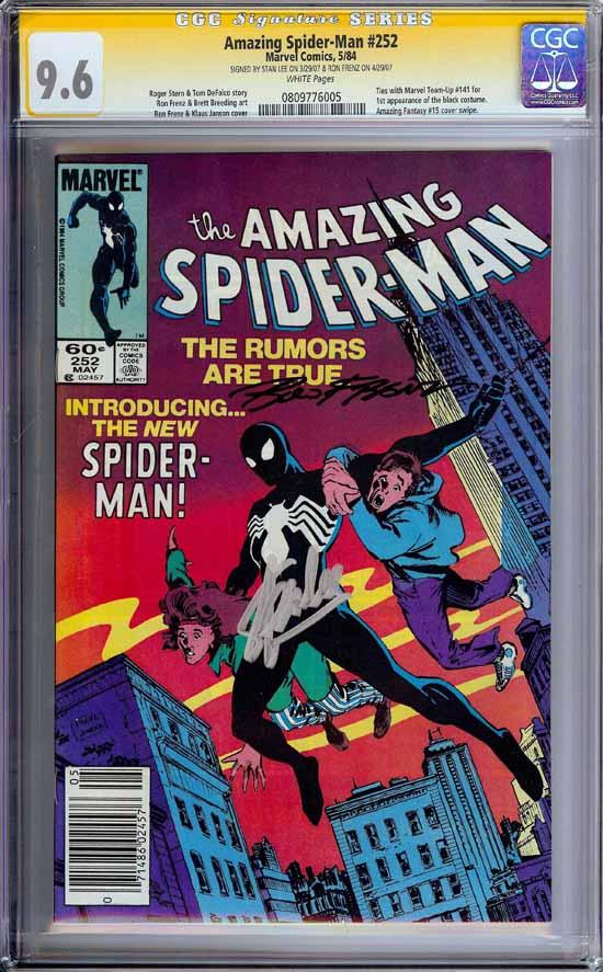Amazing Spider-Man #252 CGC 9.6 w CGC Signature SERIES