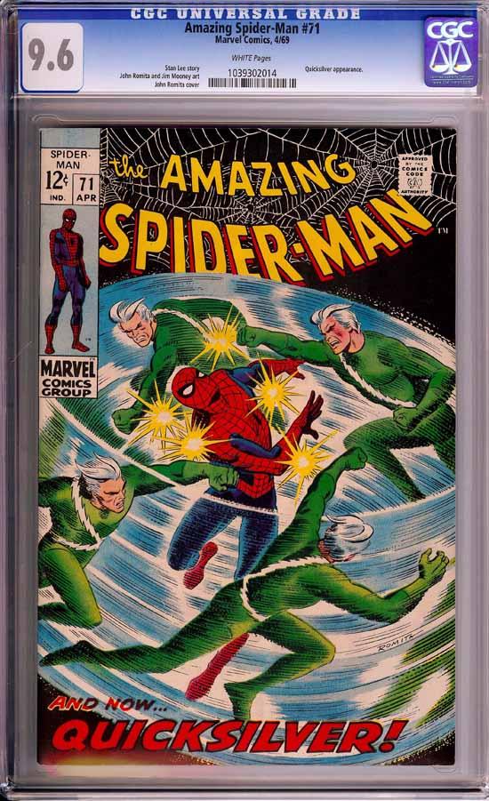 Amazing Spider-Man #71 CGC 9.6 w