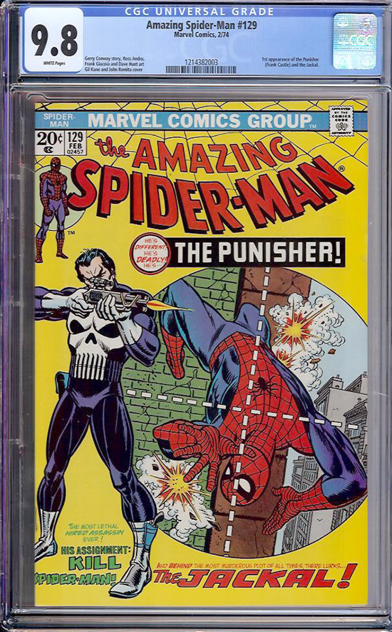 Amazing Spider-Man #129 CGC 9.8 w