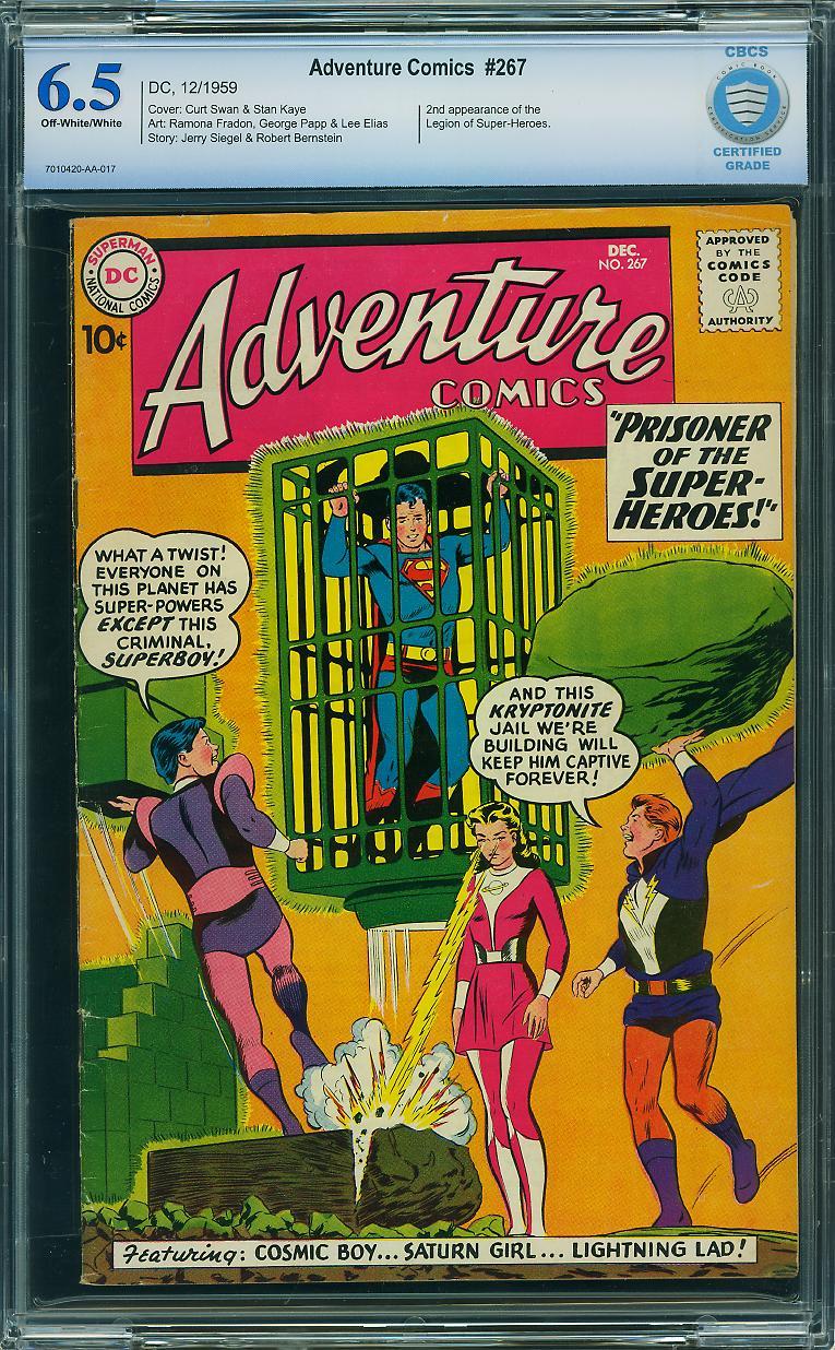 Adventure Comics #267 CBCS 6.5 ow/w