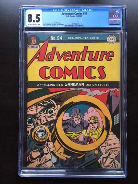 Adventure Comics #94 CGC 8.5 ow/w