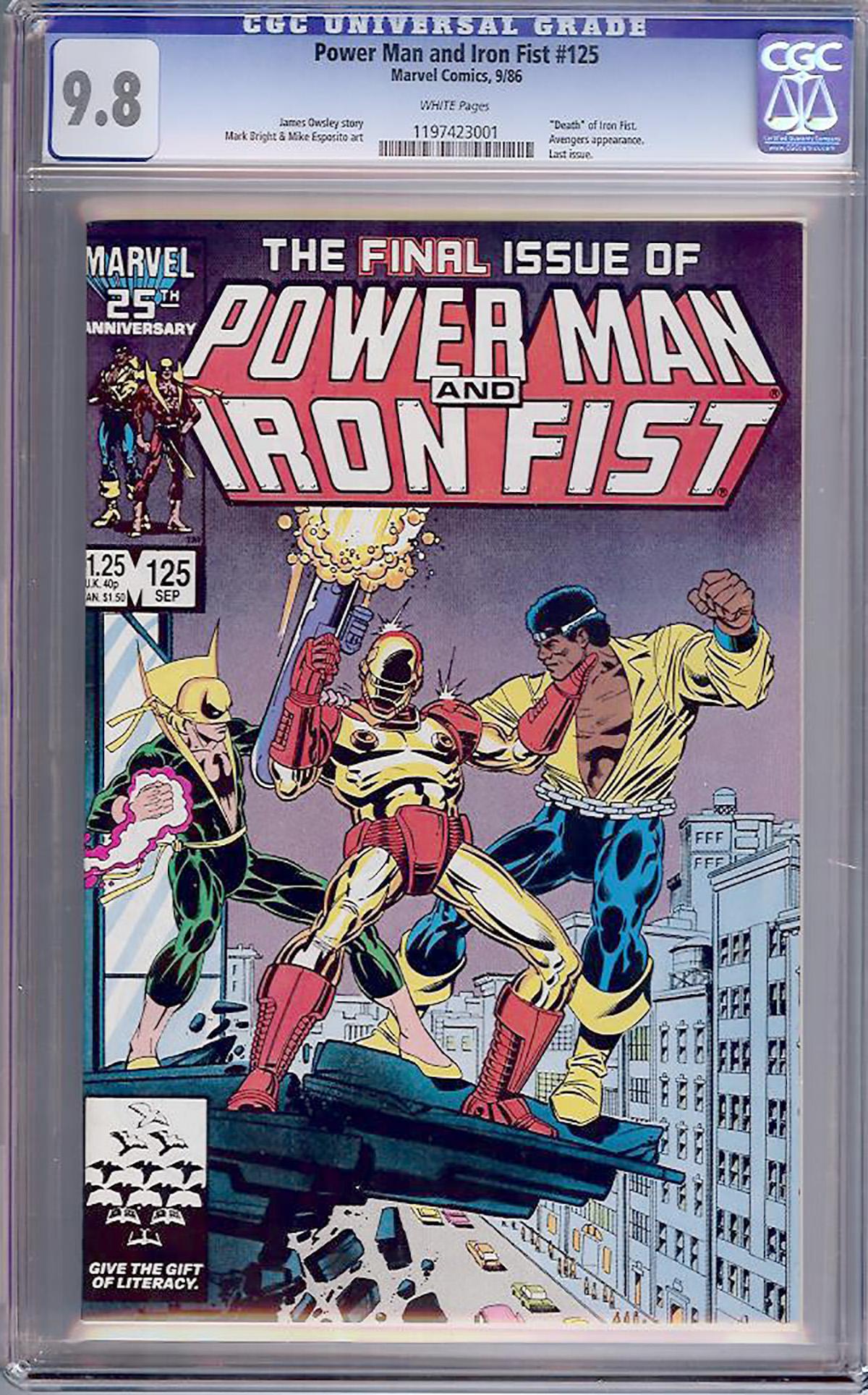 power man and iron fist comic - HD1200×1805