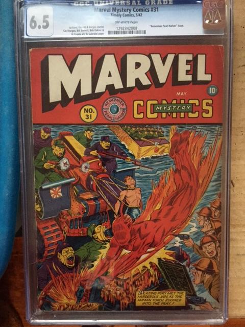 Marvel Mystery Comics #31 CGC 6.5 ow