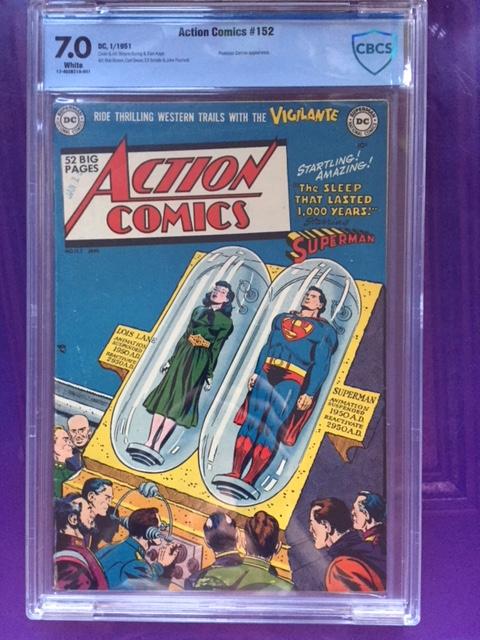 Action Comics #152 CBCS 7.0 w