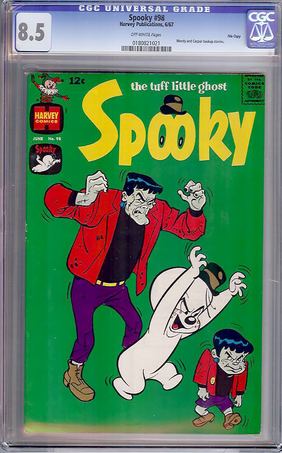 Spooky #98 CGC 8.5 ow File Copy