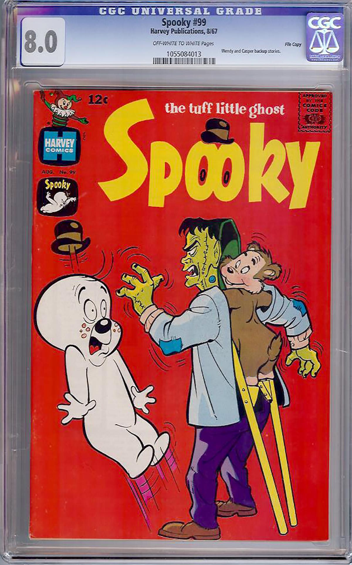 Spooky #99 CGC 8.0 ow/w File Copy