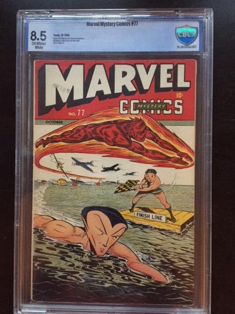 Marvel Mystery Comics #77 CBCS 8.5 ow/w