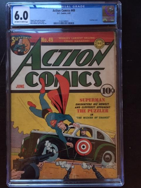 Action Comics #49 CGC 6.0 ow/w