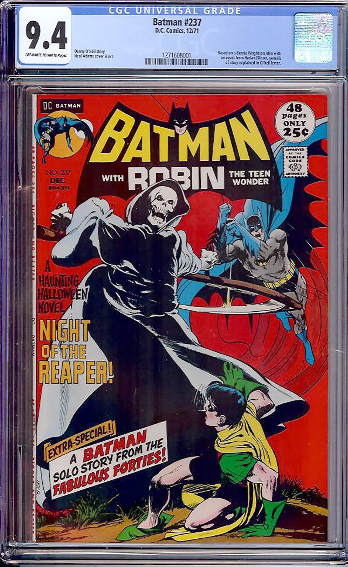 Batman #237 CGC 9.4 ow/w