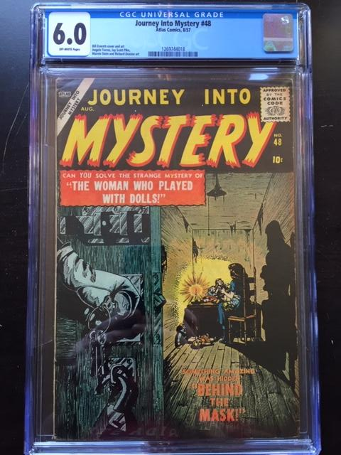 Journey Into Mystery #48 CGC 6.0 ow