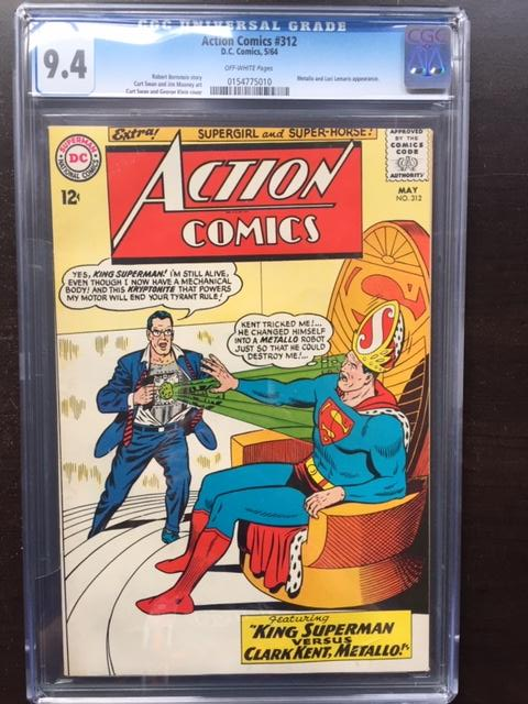 Action Comics #312 CGC 9.4 ow