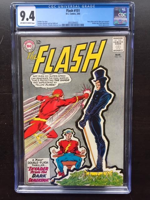 Flash #151 CGC 9.4 ow/w