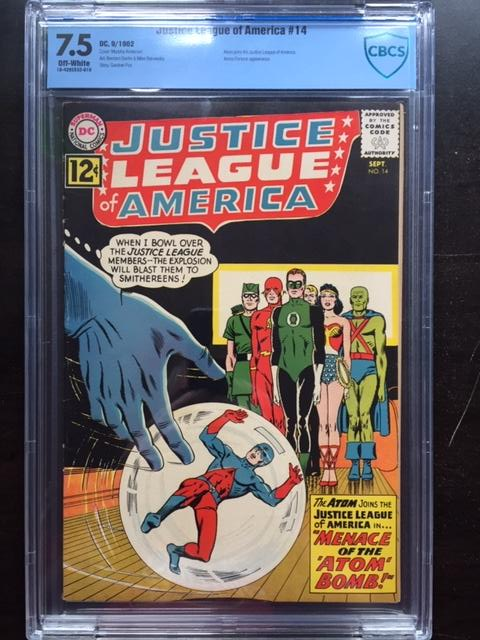 Justice League of America #14 CBCS 7.5 ow