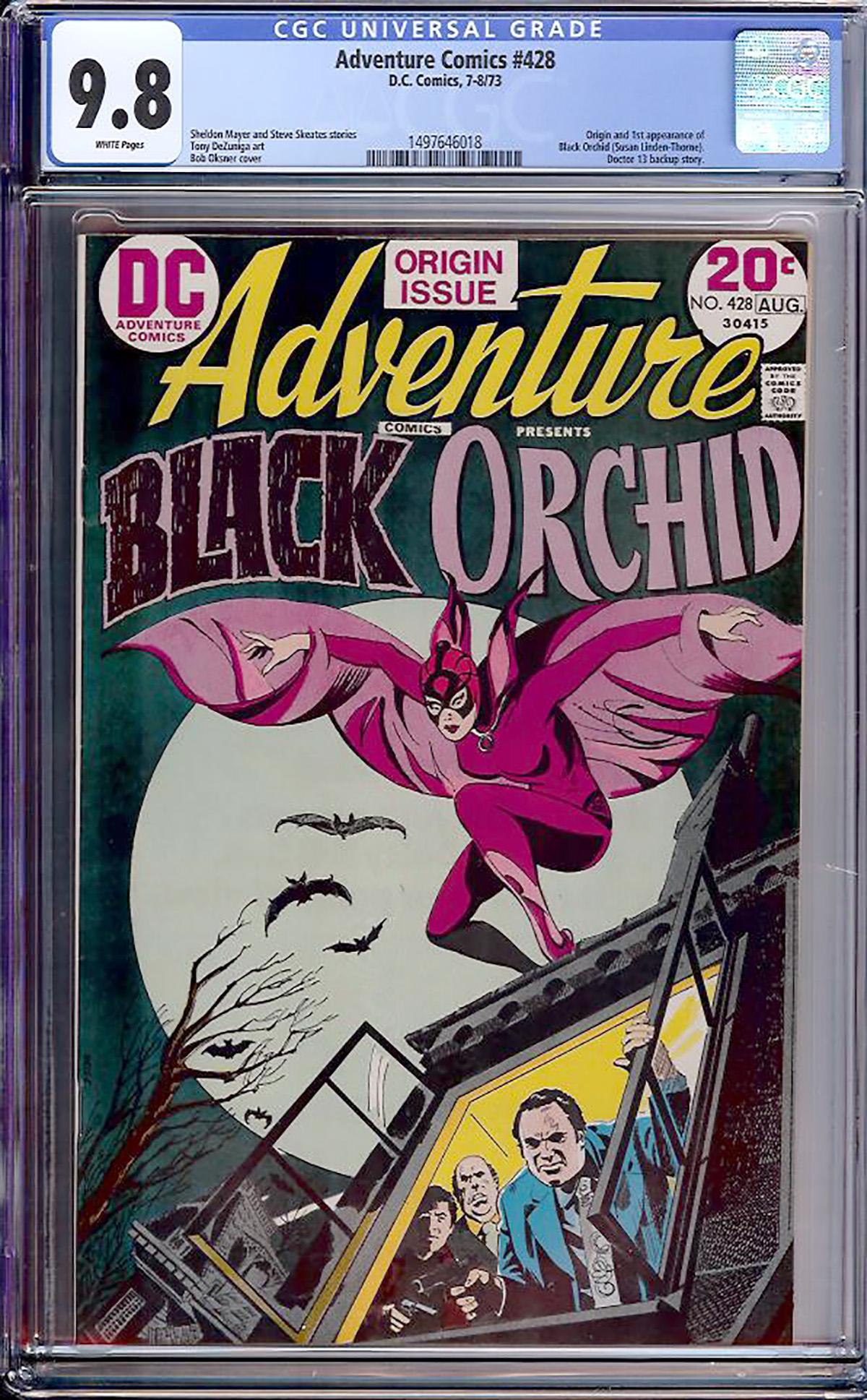 Adventure Comics #428 CGC 9.8 w