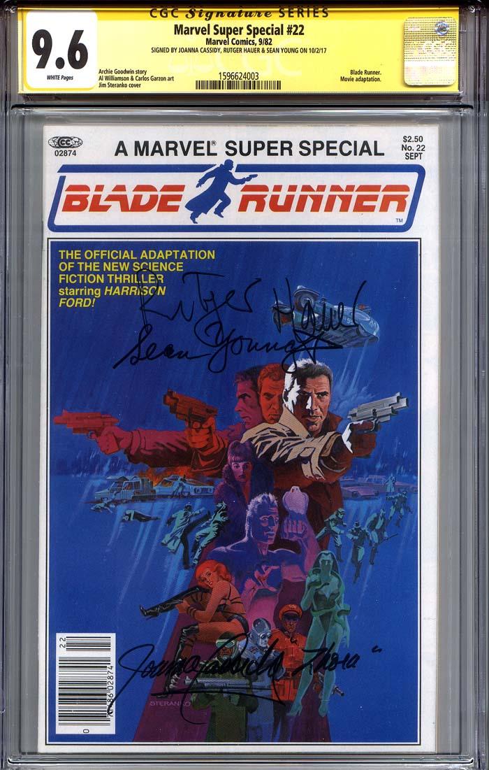 Marvel Super Special #22 CGC 9.6 n/a CGC Signature SERIES