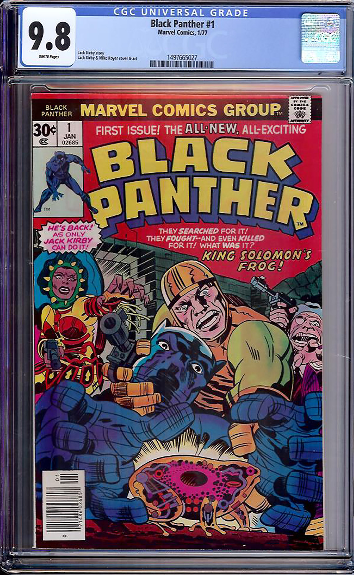 Black Panther #1 CGC 9.8 w