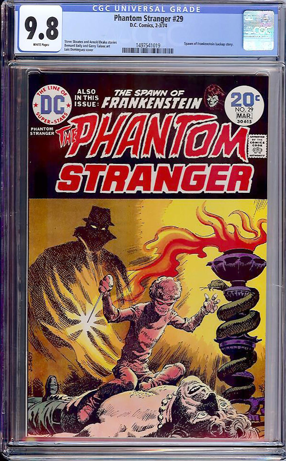 Phantom Stranger #29 CGC 9.8 w