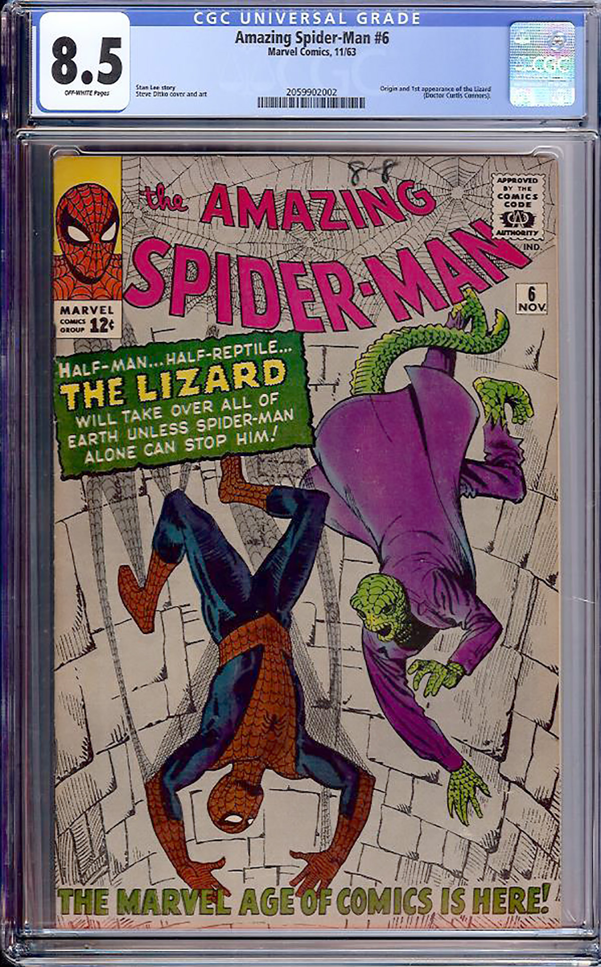 Amazing Spider-Man #6 CGC 8.5 ow