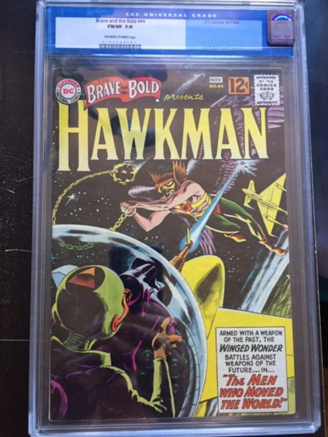 Brave and the Bold #44 CGC 8.0 w