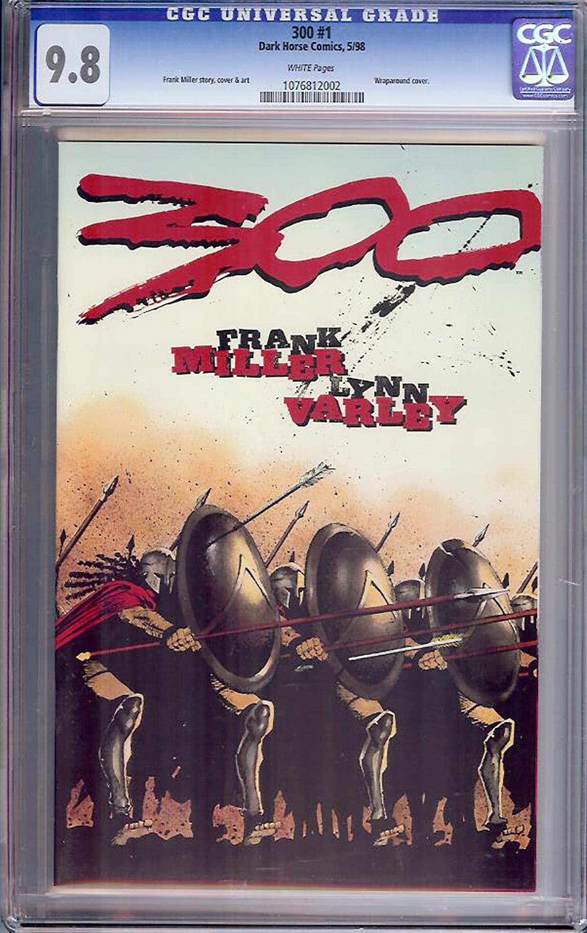 300 #1 CGC 9.8 w