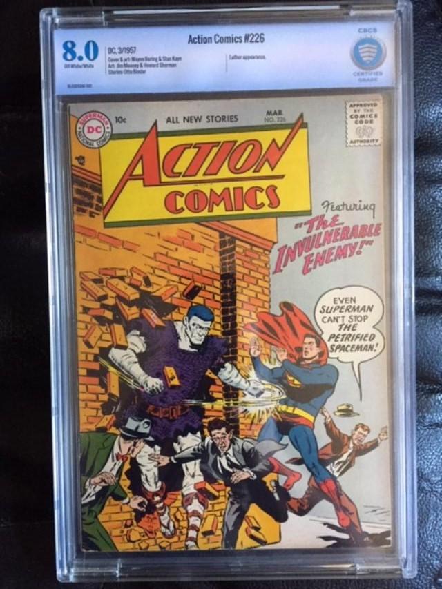 Action Comics #226 CBCS 8.0 ow/w