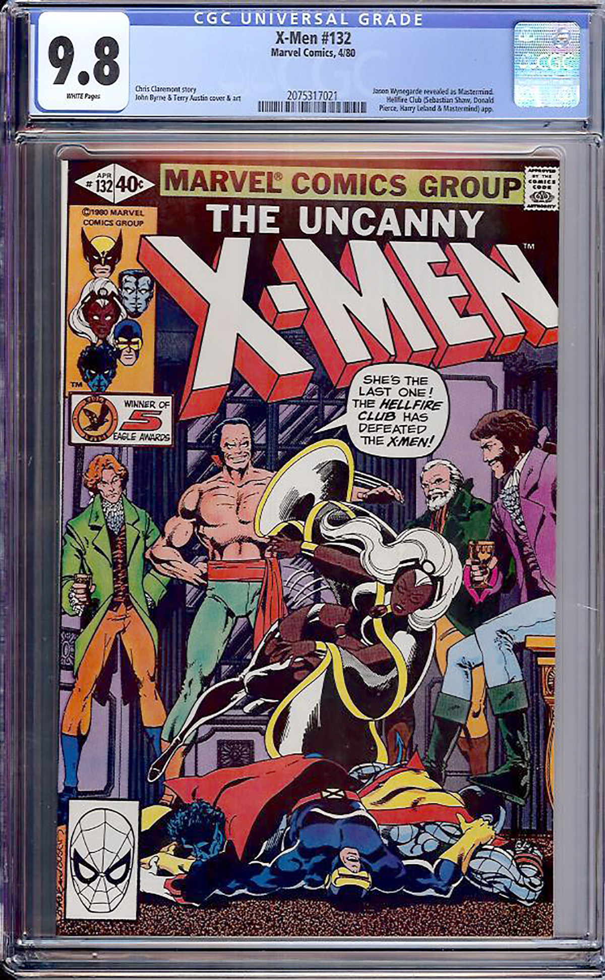 X-Men #132 CGC 9.8 w Davie Collection