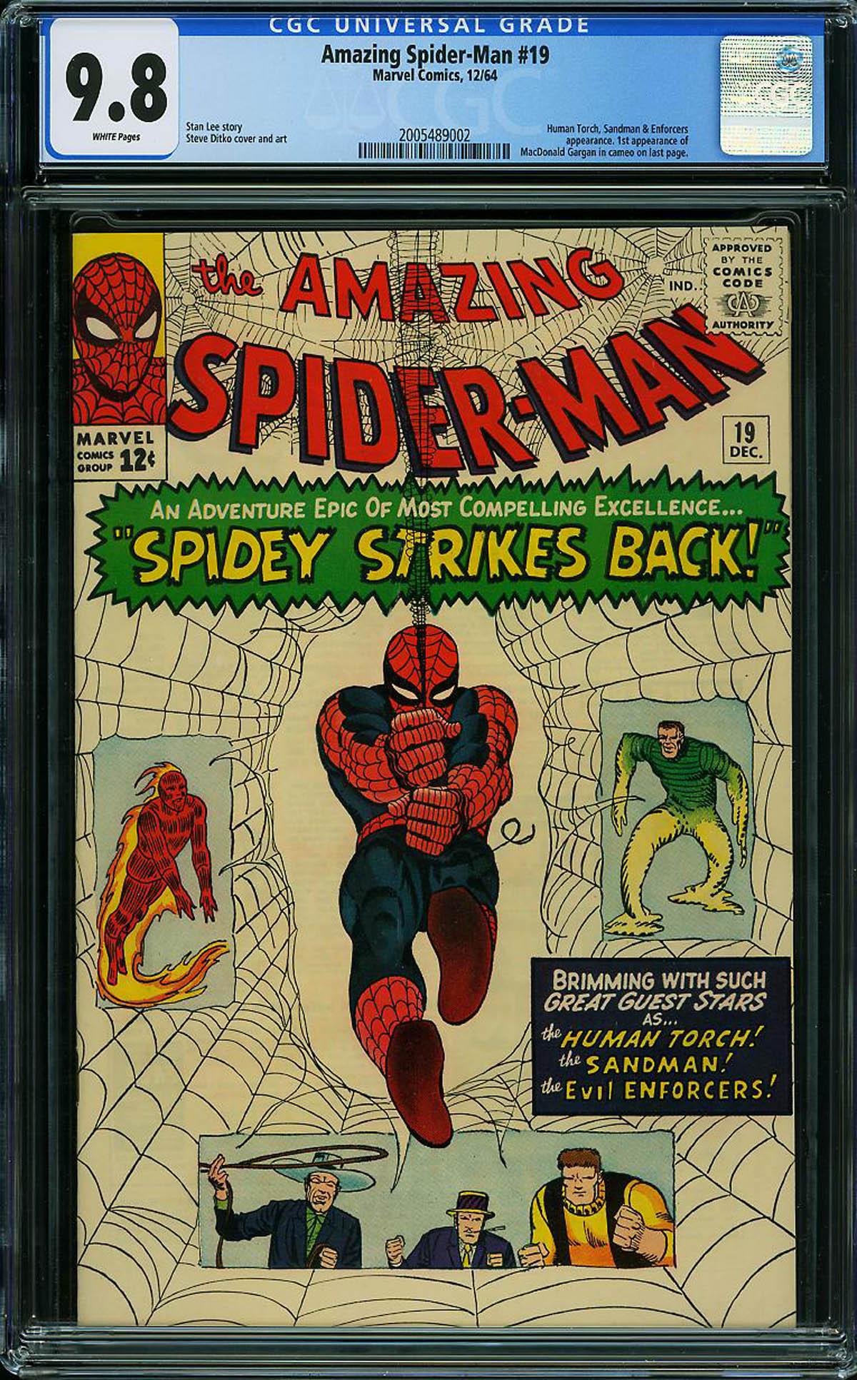 Amazing Spider-Man #19 CGC 9.8 w
