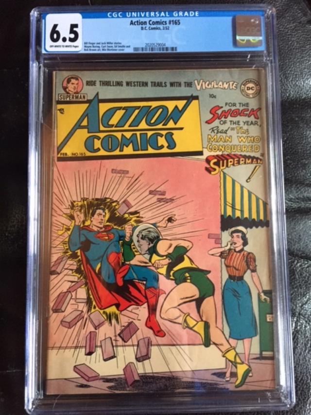 Action Comics #165 CGC 6.5 ow/w