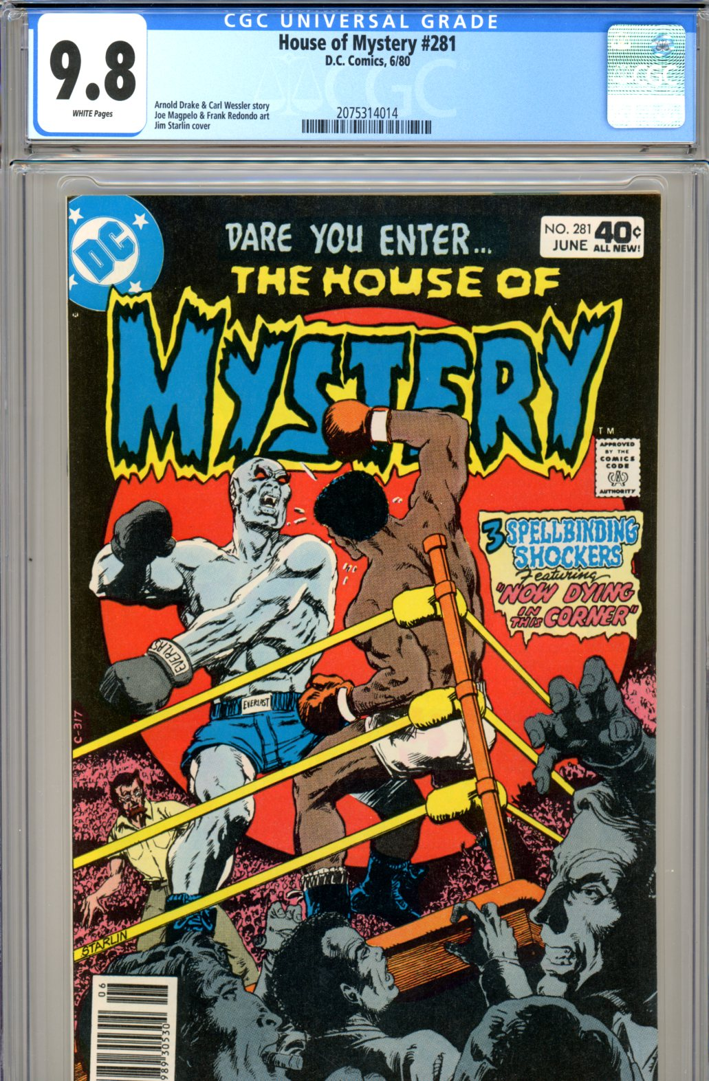House of Mystery #281 CGC 9.8 w