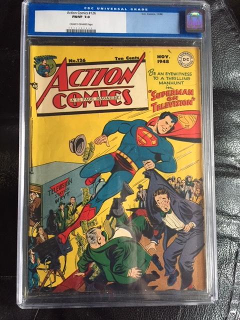 Action Comics #126 CGC 7.0 cr/ow