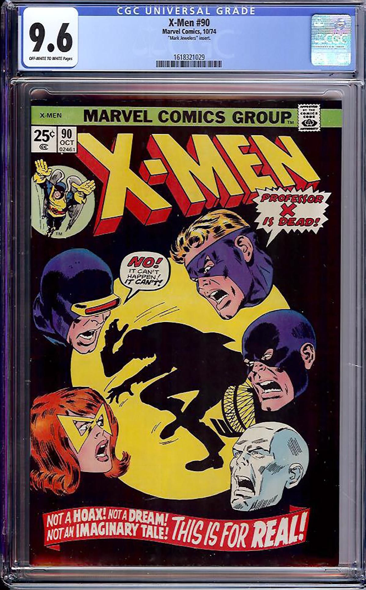X-Men #90 CGC 9.6 ow/w