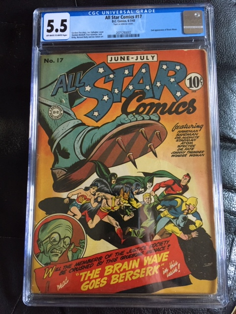 All Star Comics #17 CGC 5.5 n/a