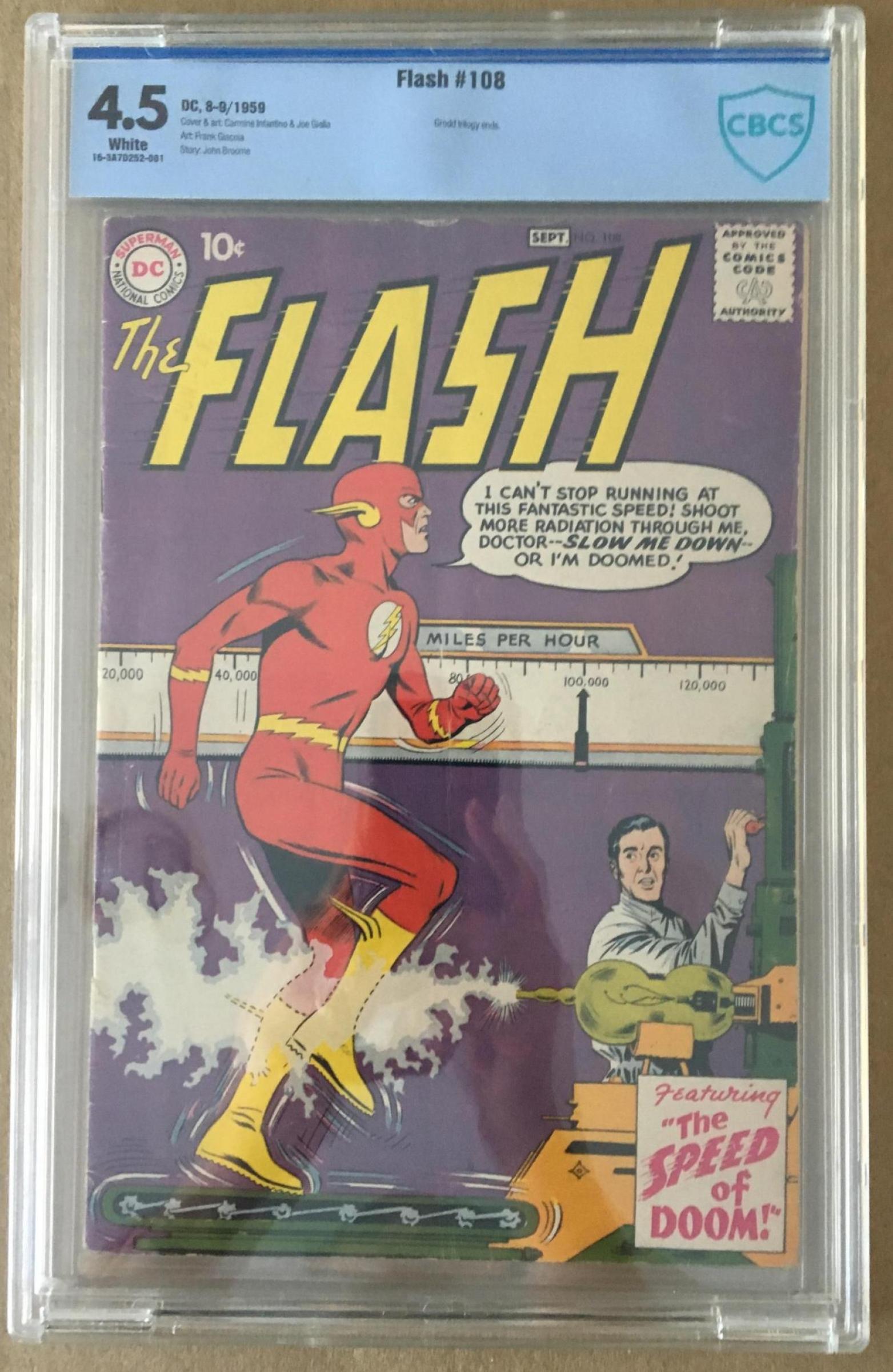 Flash #108 CBCS 4.5 w