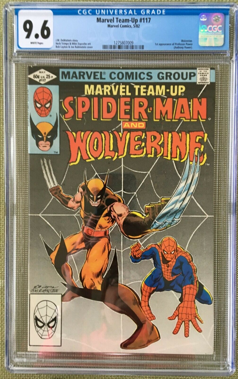 Marvel Team-Up #117 CGC 9.6 w