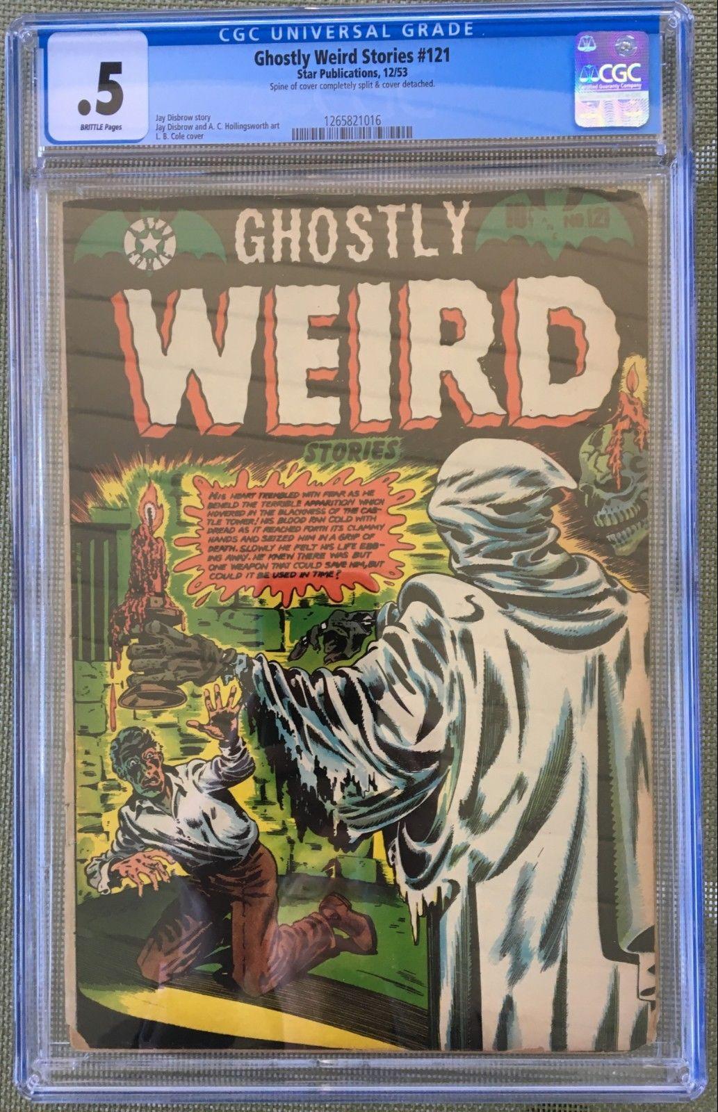 Ghostly Weird Stories #121 CGC 0.5 b