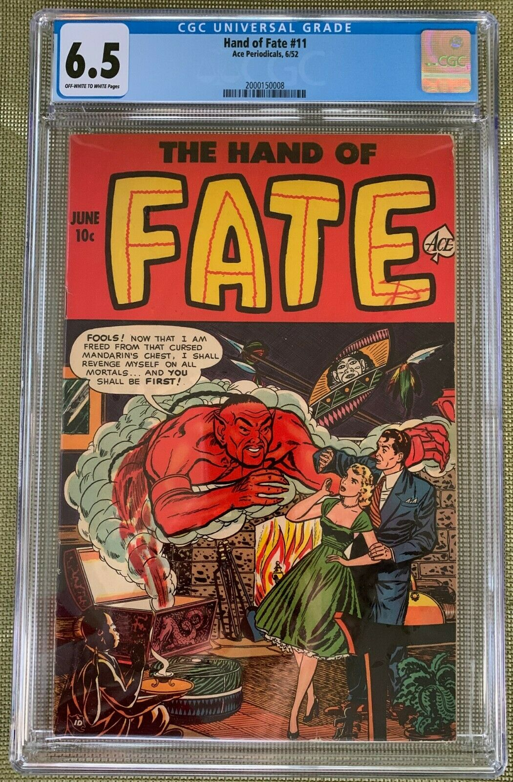 Hand of Fate #11 CGC 6.5 ow/w