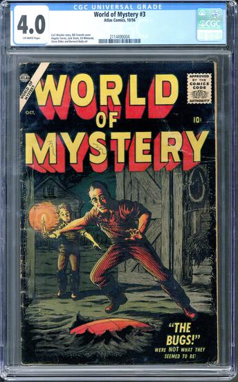 World of Mystery #3 CGC 4.0 ow