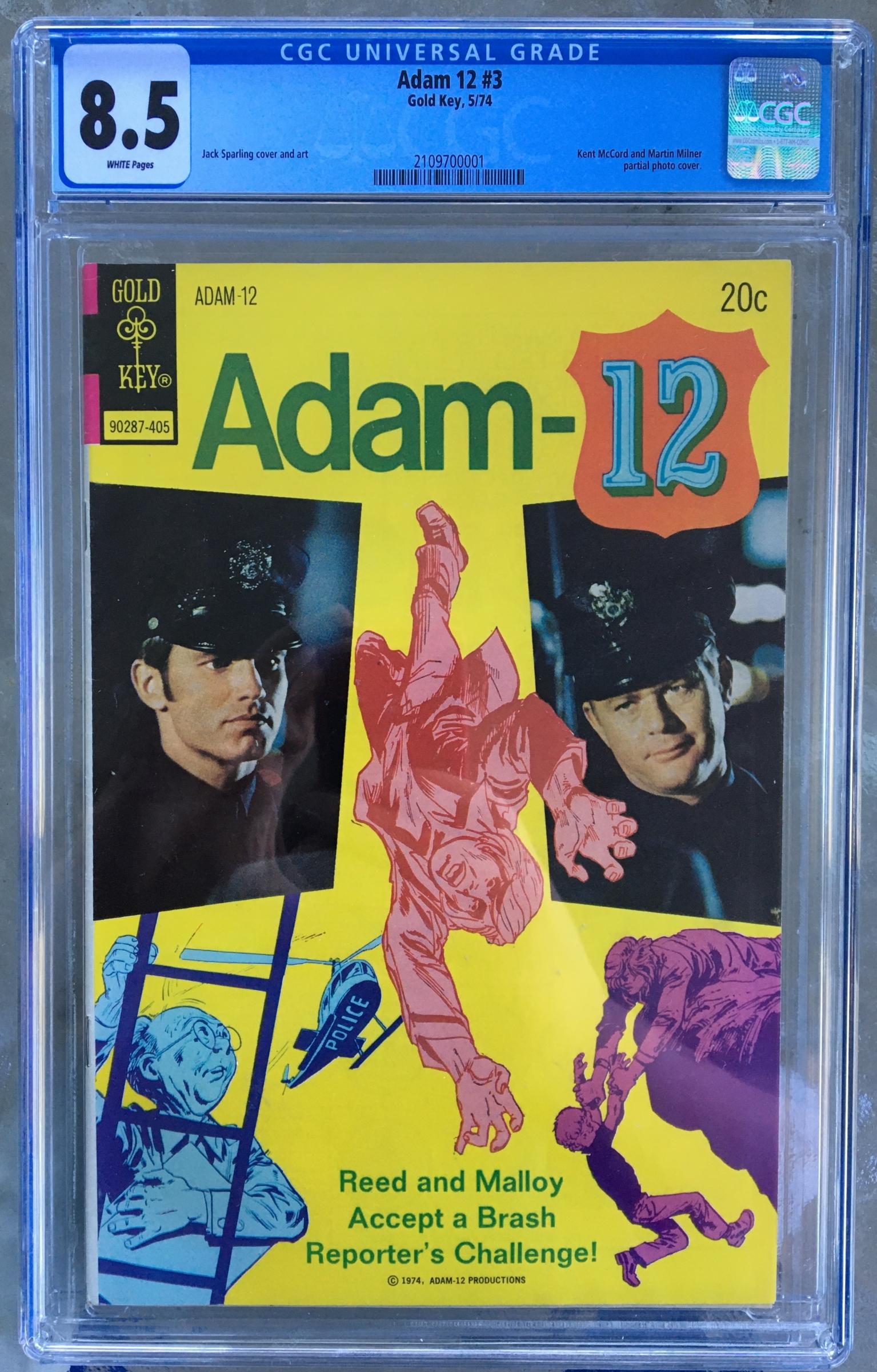 Adam 12 #3 CGC 8.5 w