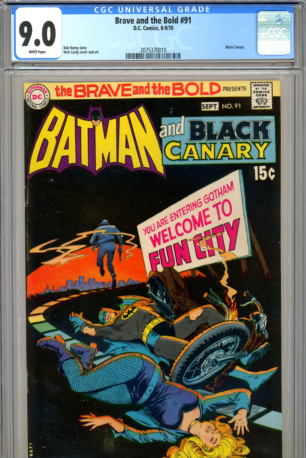 Brave and the Bold #91 CGC 9.0 w