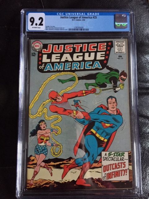 Justice League of America #25 CGC 9.2 ow