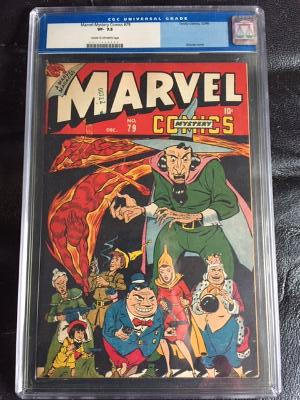 Marvel Mystery Comics #79 CGC 7.5 cr/ow