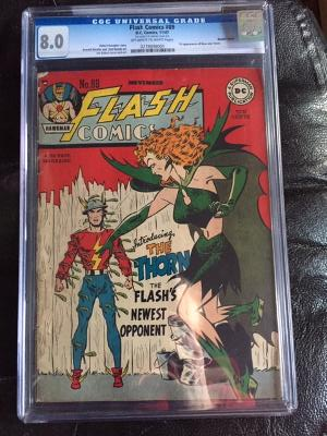Flash Comics #89 CGC 8.0 ow/w