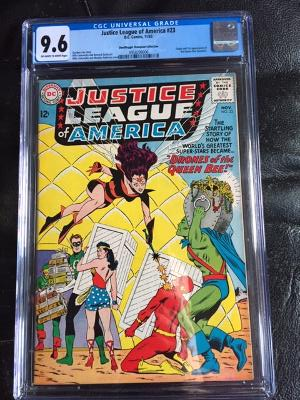 Justice League of America #23 CGC 9.6 ow/w Don/Maggie Thompson Collection