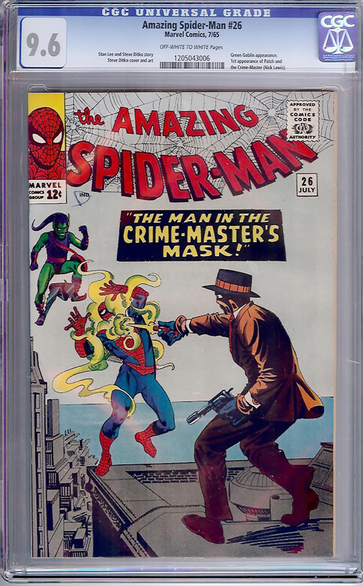 Amazing Spider-Man #26 CGC 9.6 ow/w