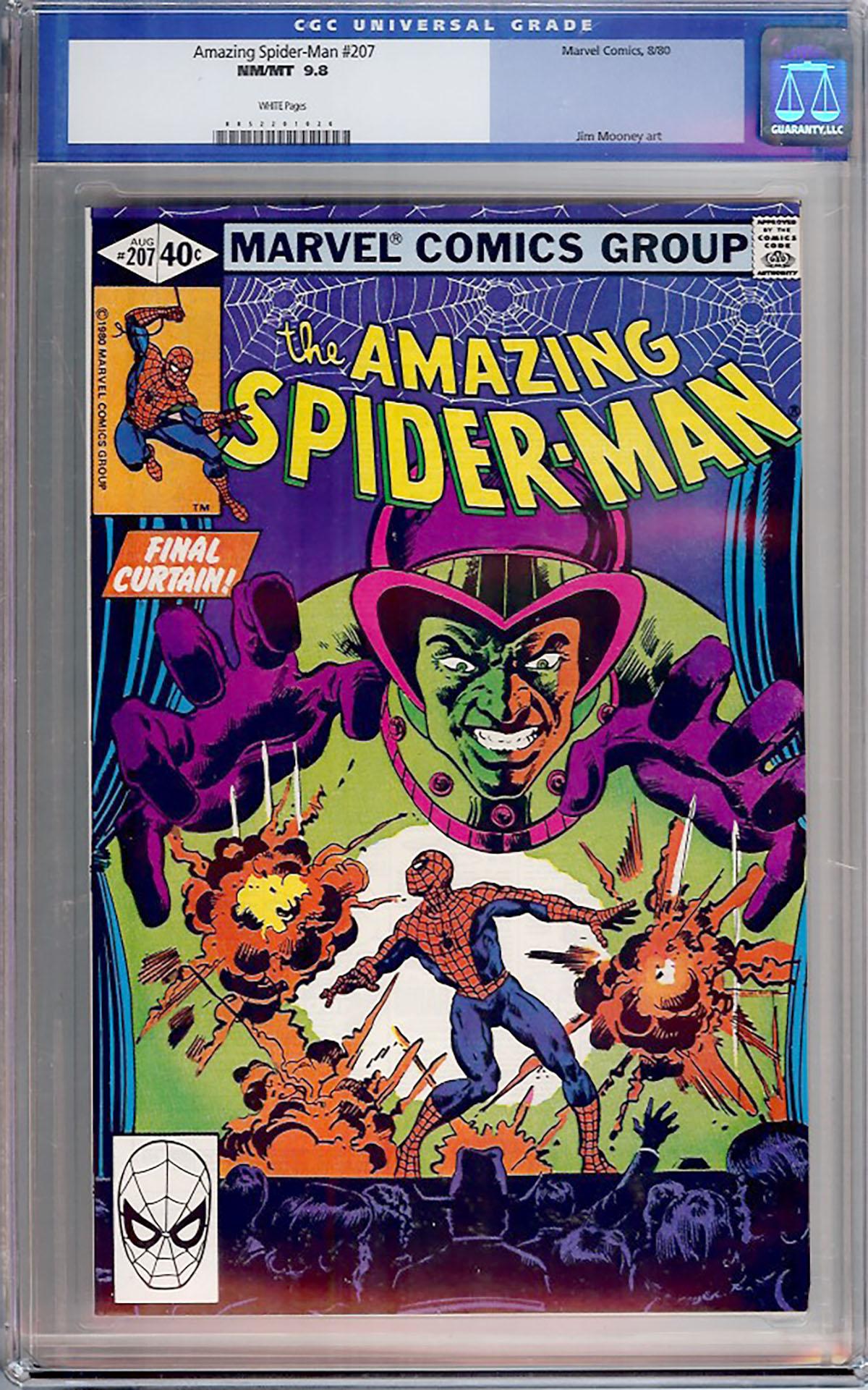 Amazing Spider-Man #207 CGC 9.8 w