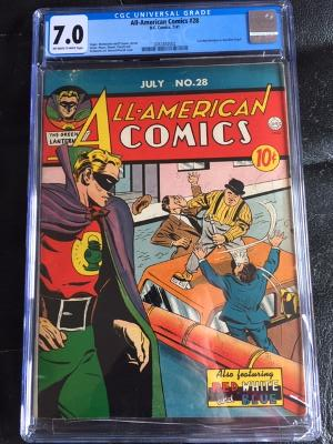 All-American Comics #28 CGC 7.0 ow/w
