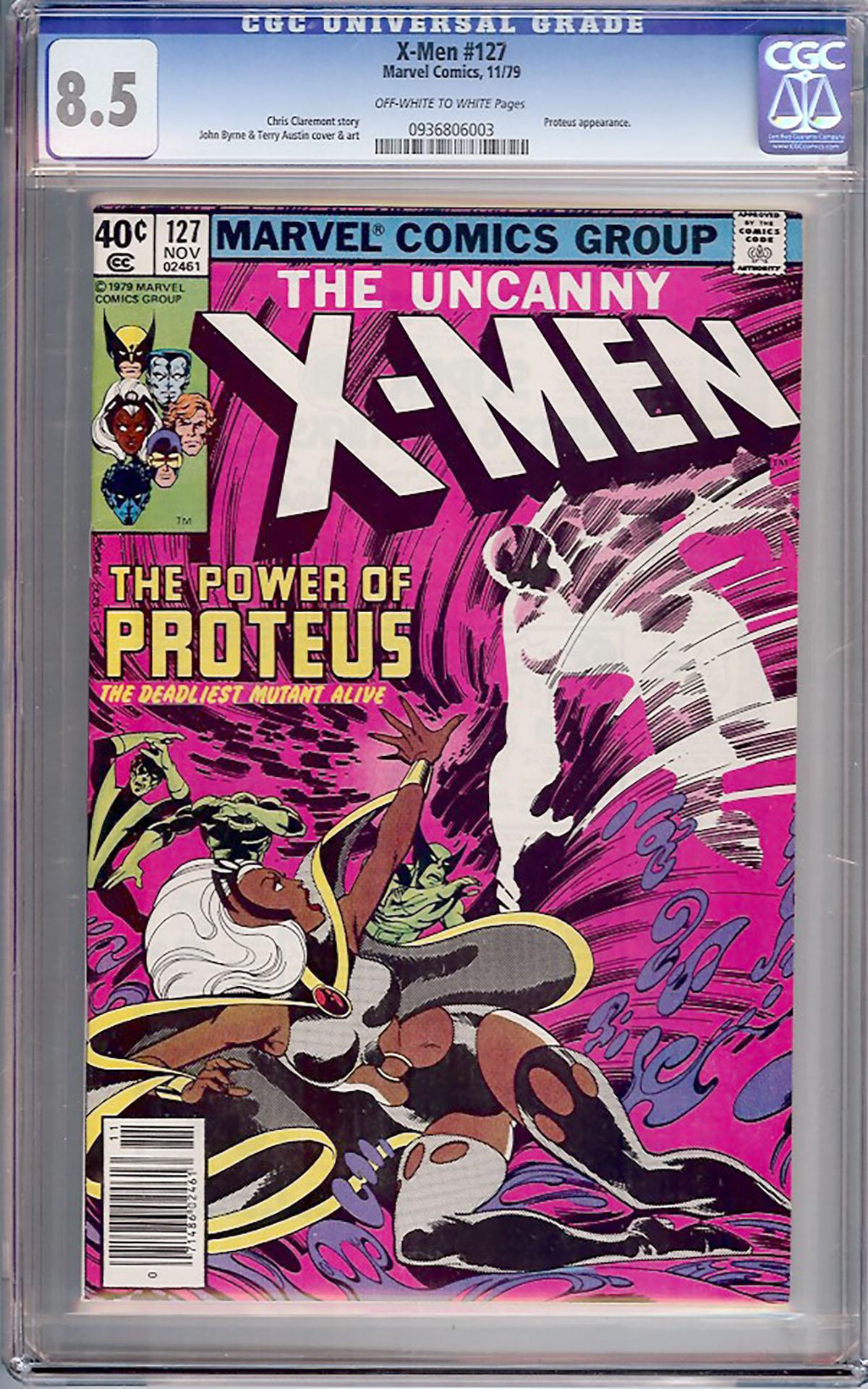 X-Men #127 CGC 8.5 ow/w