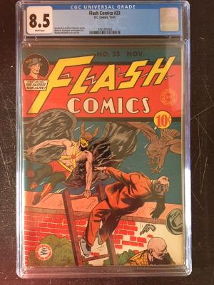 Flash Comics #23 CGC 8.5 w