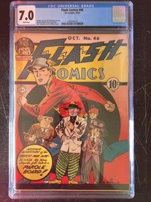 Flash Comics #46 CGC 7.0 w